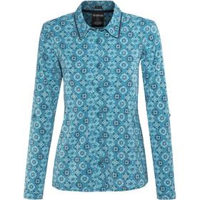 Sherpa W's Chakra LS Shirt Blue Tara